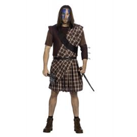 Warrior Highlands kostuum