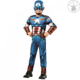 Captain America Deluxe kostuum
