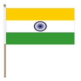 Zwaai vlaggetje India