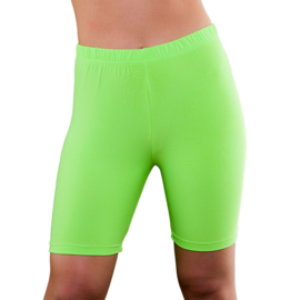Cycling short neon groen