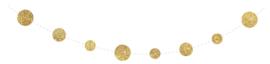 Slinger confetti goud