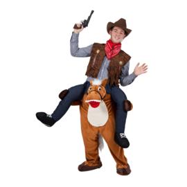 Door paard gedragen kostuum