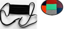 Mondkapje wasbaar | 50x Herbruikbare mondmaskers