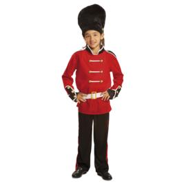 Engelse wachters kostuum jongen