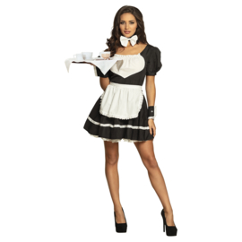 Sexy serveersters jurkje | french maid