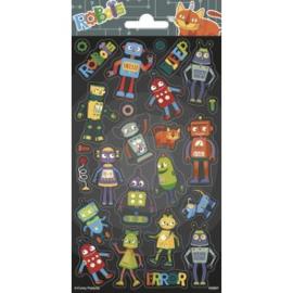 Sticker vel Robots