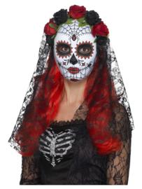 Day of the Dead Senorita Masker