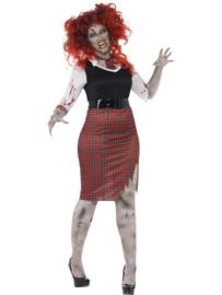 Zombie schoolgirl jurkje