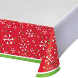 Tafelkleed sneeuwvlok