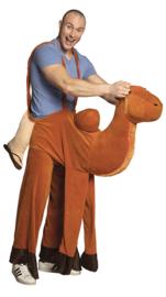 Op een kameel kostuum