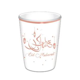 Bekertjes 'Eid Mubarak' (35cl, 8st) | Ramadan