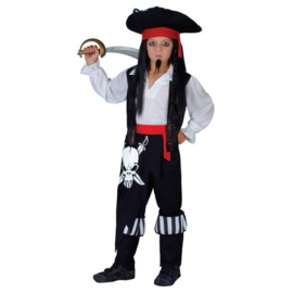 Piraten kostuum blackbeard