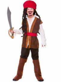 Caribbean piraten kostuum