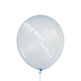 Bubbel ballonnen blauw 100 st.