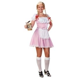 Tiroler jurkje beiers roze OP=OP