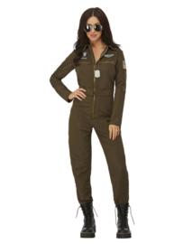 Top gun piloot dames kostuum license