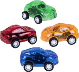 Auto Pull-back Junior 4,5 X 3 Cm 4 Stuks