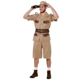 Safari heer kostuum