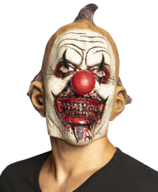 Evil clown masker latex