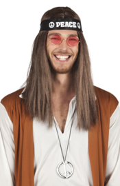 Hippie peace set man