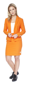 Ms. orange opposuits kostuum