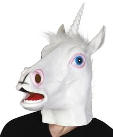 Latex eenhoorn masker