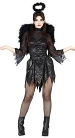Zwarte engel jurkje