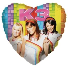 K3 folieballon excl.