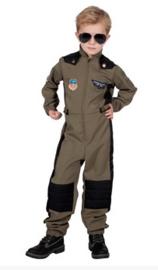 Top pilot kostuum boy