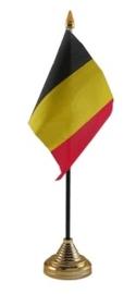 Tafelvlag Belgie zwart