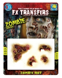 Zombie rottend 3D FX transfers