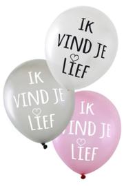 Ballonnen ik vind je lief