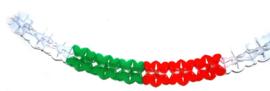 PVC slinger italie   rood, groen, wit