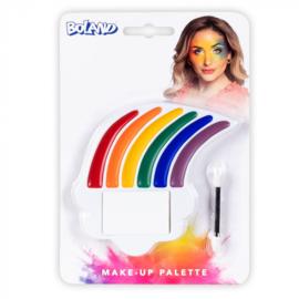 Make up palet | regenboog
