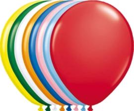 5 inch ballonnen assorti metallic