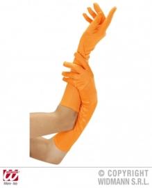 Handschoenen Neon Oranje lang