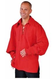 Zorro hemd rood
