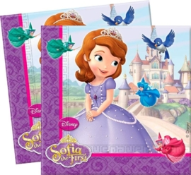 Servetten Sofia het prinsesje