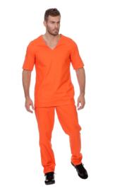 County jailbird kostuum