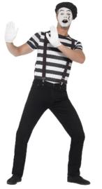 Gentleman Mime artist kostuum