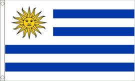 Vlag Uruguay 90x150