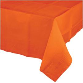 Oranje tafelkleed