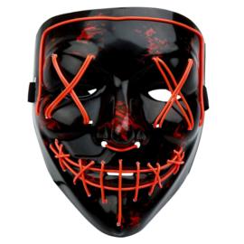 V-vendetta masker met licht