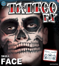 Face Tattoo skull face