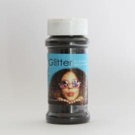 100 gram glitter zwart