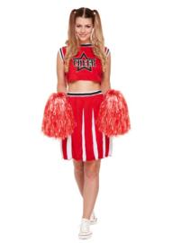 Cheerleader USA  | incl.pom poms