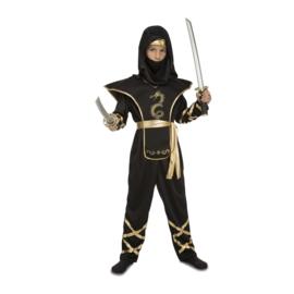 Ninja negro kostuum jongen