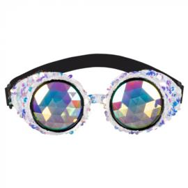 Partybril mirage festival | zilver