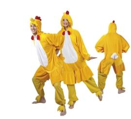 Kippen kostuum plushe