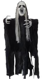 Geanimeerde hangende Zwarte Geest